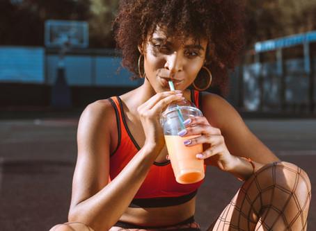 Orange juice benefits!
