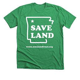 save land tee green.jfif