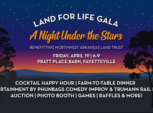 Join us for the Land for Life Gala