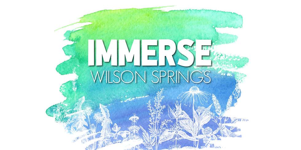 IMMERSE: Wilson Springs