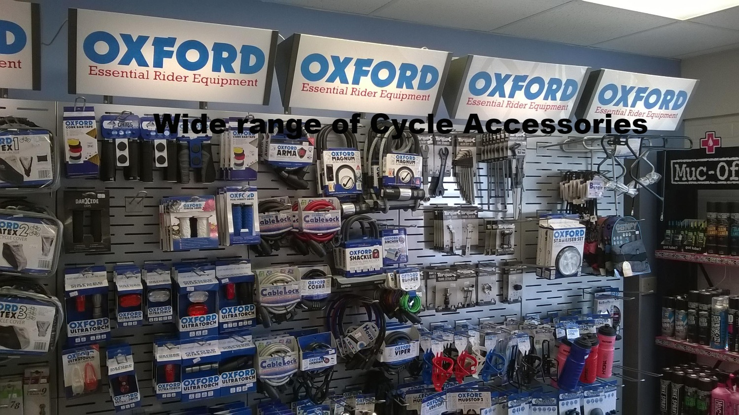 Oxford products range