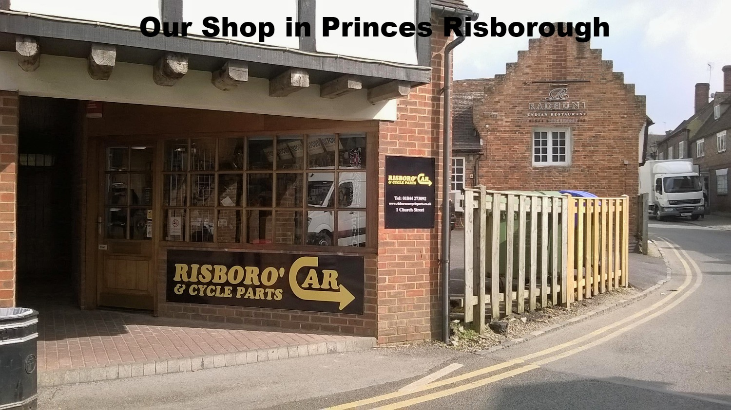 We're in Princes Risborough