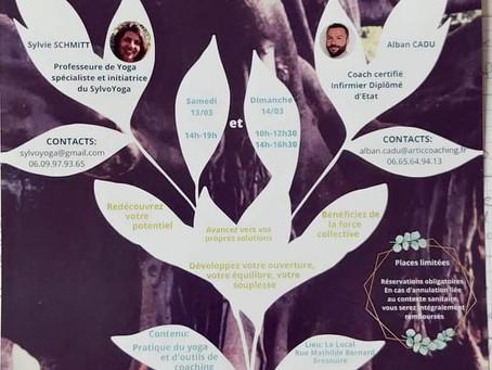 Septembre 2021 : Yoga et coaching - Bressuire (79300)