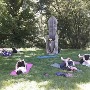 Stage Yoga et Marche  à la Tour d'Auzay