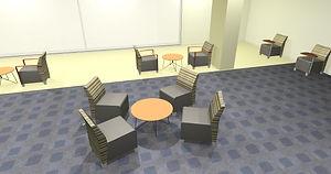 Lower Atrium - Blonde Wyre Table.jpg