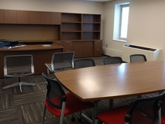 Private Office with Meeting Area