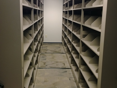 Movable Filing Shelves