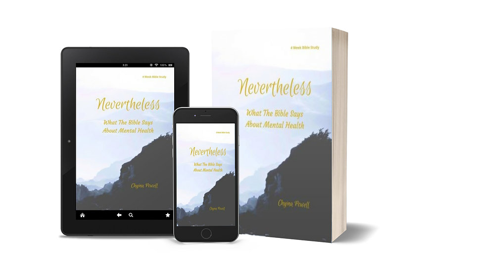 Nevertheless: What The Bible Says About Mental Health