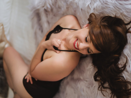 """Why a Boudoir Experience is more than """"just photos"""""""