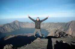 jump at mountain