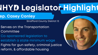 Meet Your Legislator: Rep. Casey Conley