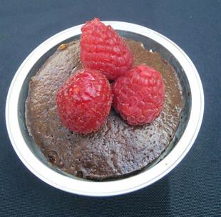Raspberry & Chipotle Flourless Cake
