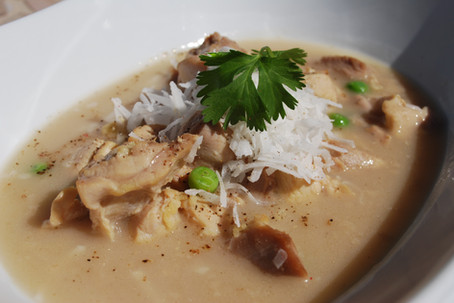 Thai Curry Coconut Chicken Soup