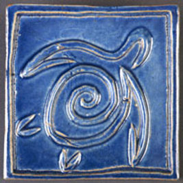 Hawaii Turtle tile