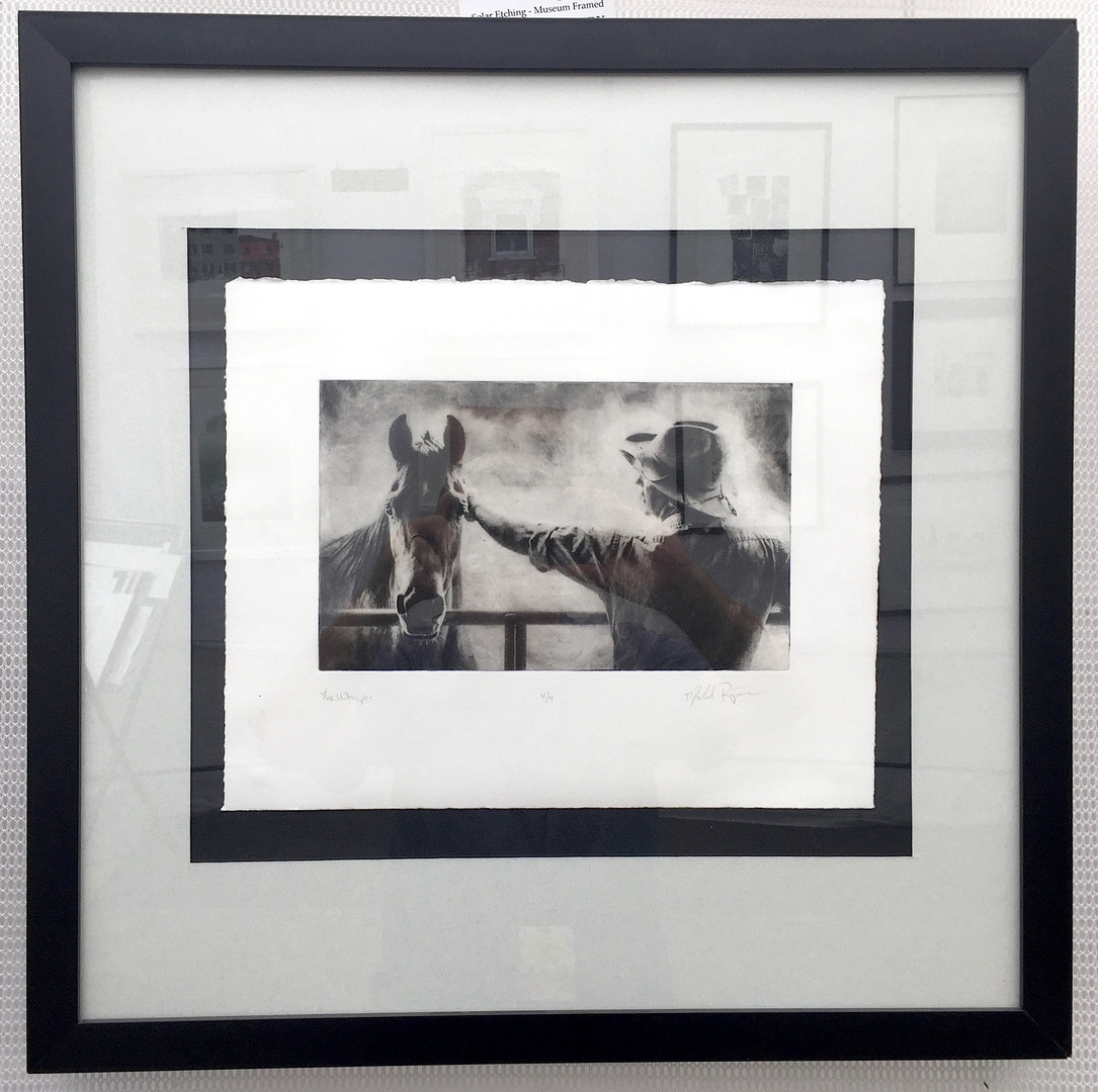 Museum Matted and Framed