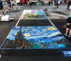 Reno Chalk Art 2018