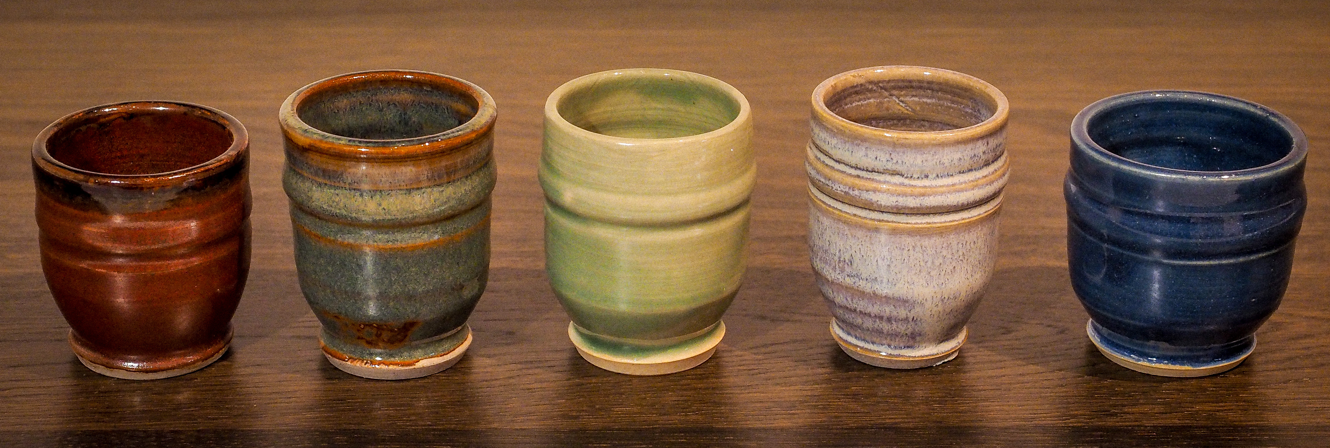 Stoneware Snifters