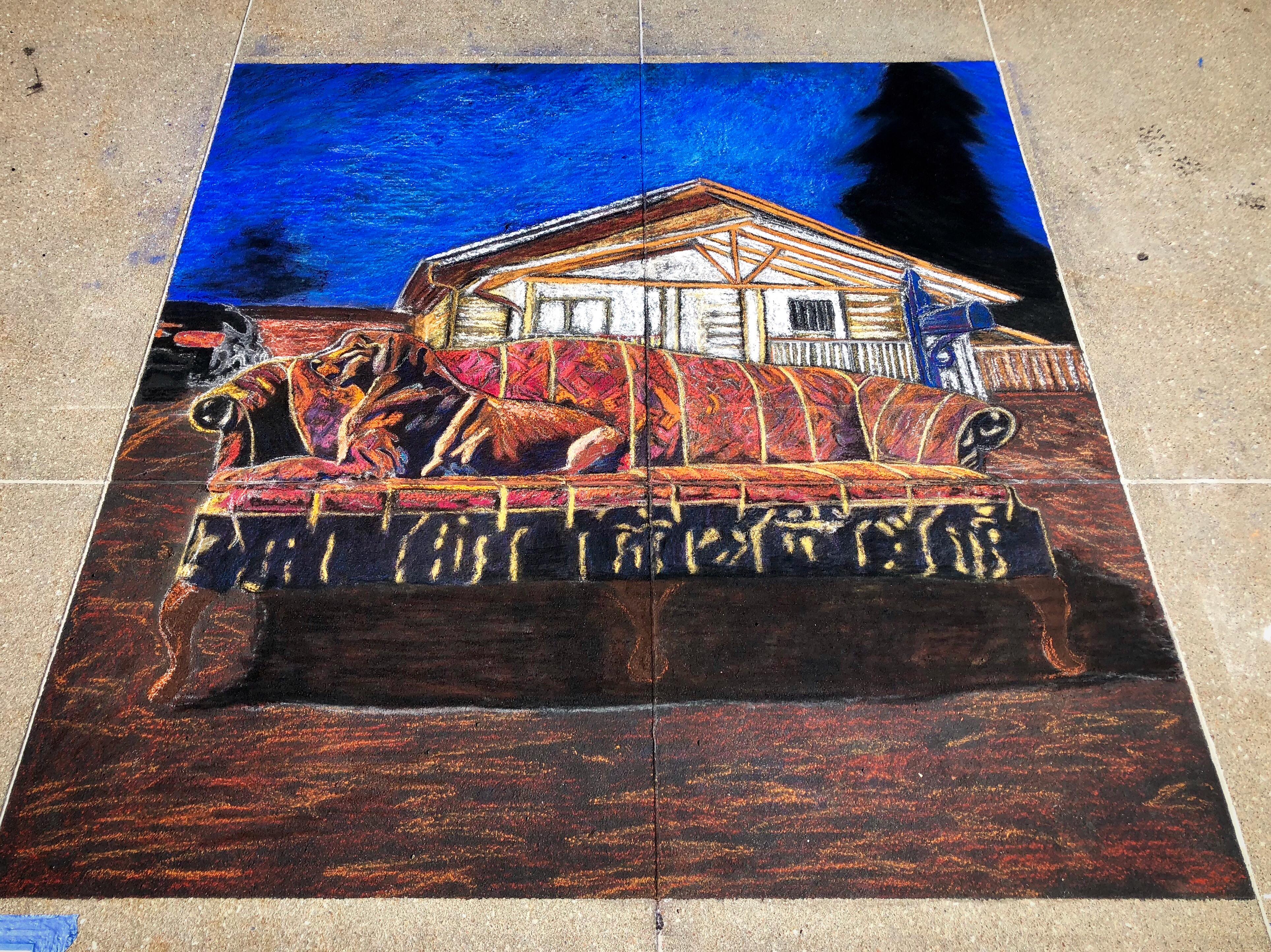 Omaha Chalk Art Festival