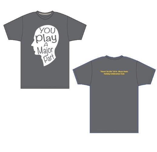 You Play A Major Part T-Shirt