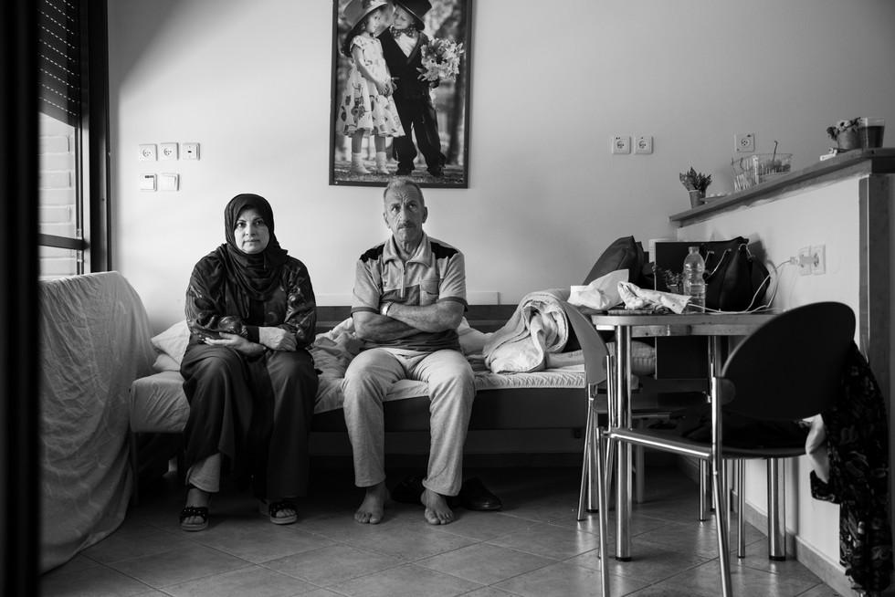 """26/6/2019 ימיו האחרונים של סהמאן עם משפחתו בחדרם בהוספיס """"בית ויזל"""" - ביה""""ח שיבא, תל השומר"""