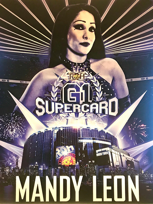 Madison Square Garden G1 Supercard ROH/NJPW 8x10