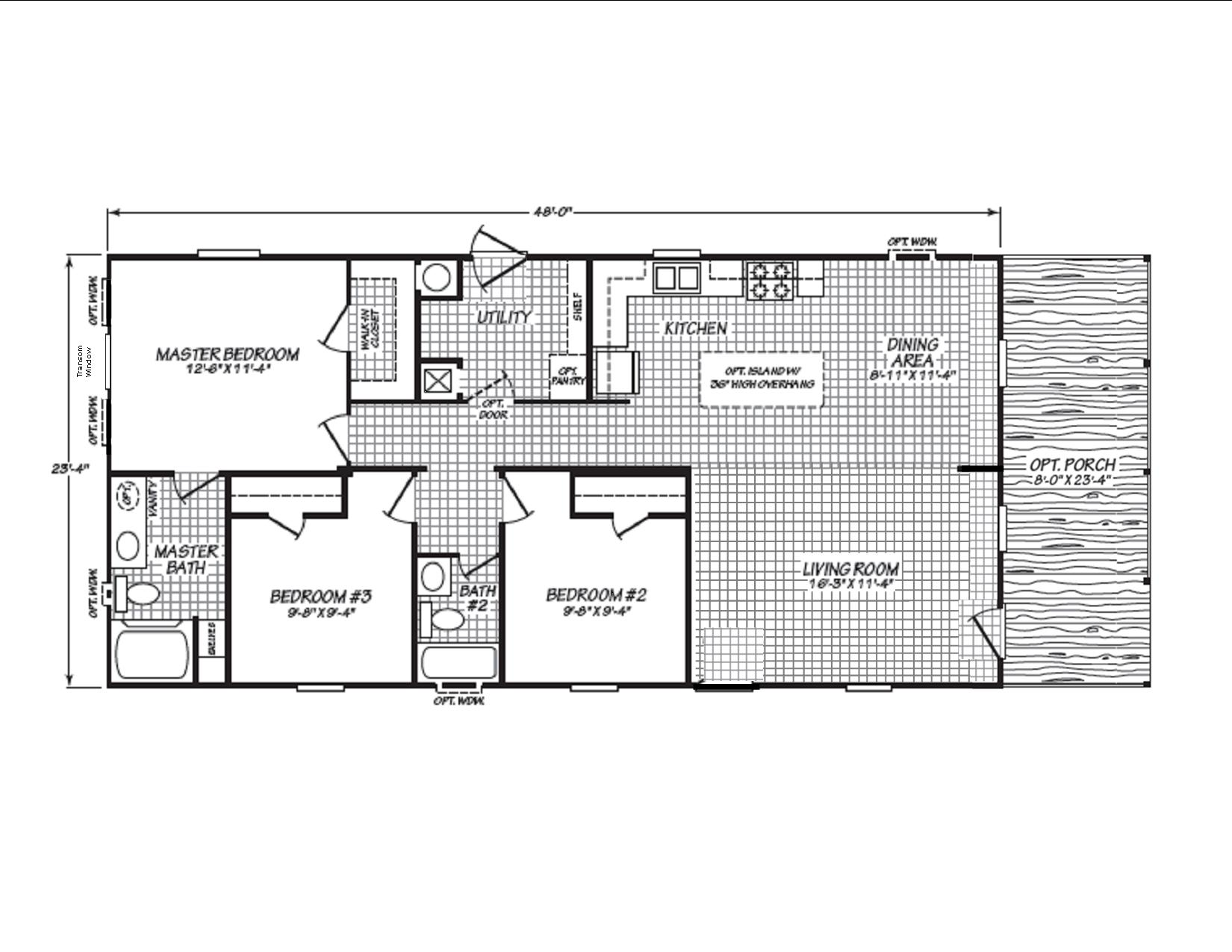 Display Home 460 Floor Plan