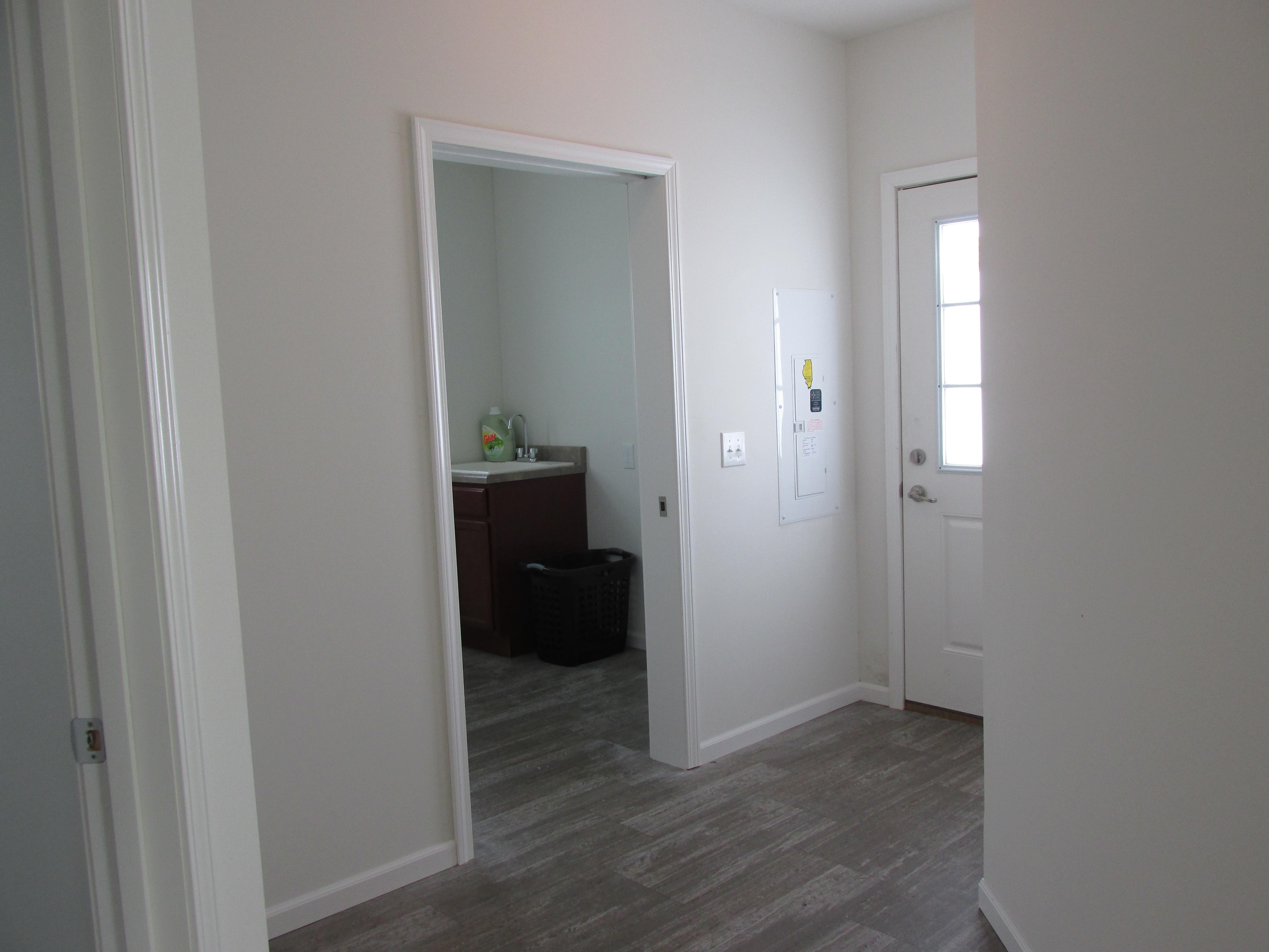 Hallway and Utility