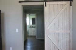 Sliding Barn Door to Utility