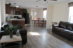 Living Room, Kitchen, & Dining Room