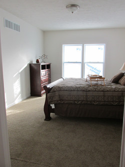 Master Bedroom with Double Window