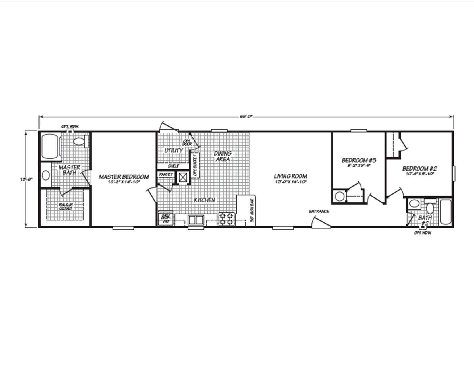 Display Home 442 Floor Plan