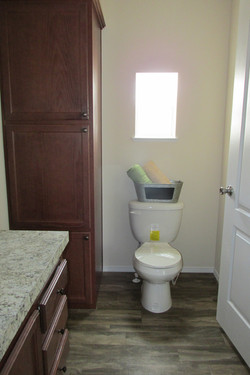 Master Bathroom with Linen Pantry