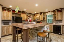 Kitchen with Alternate Island