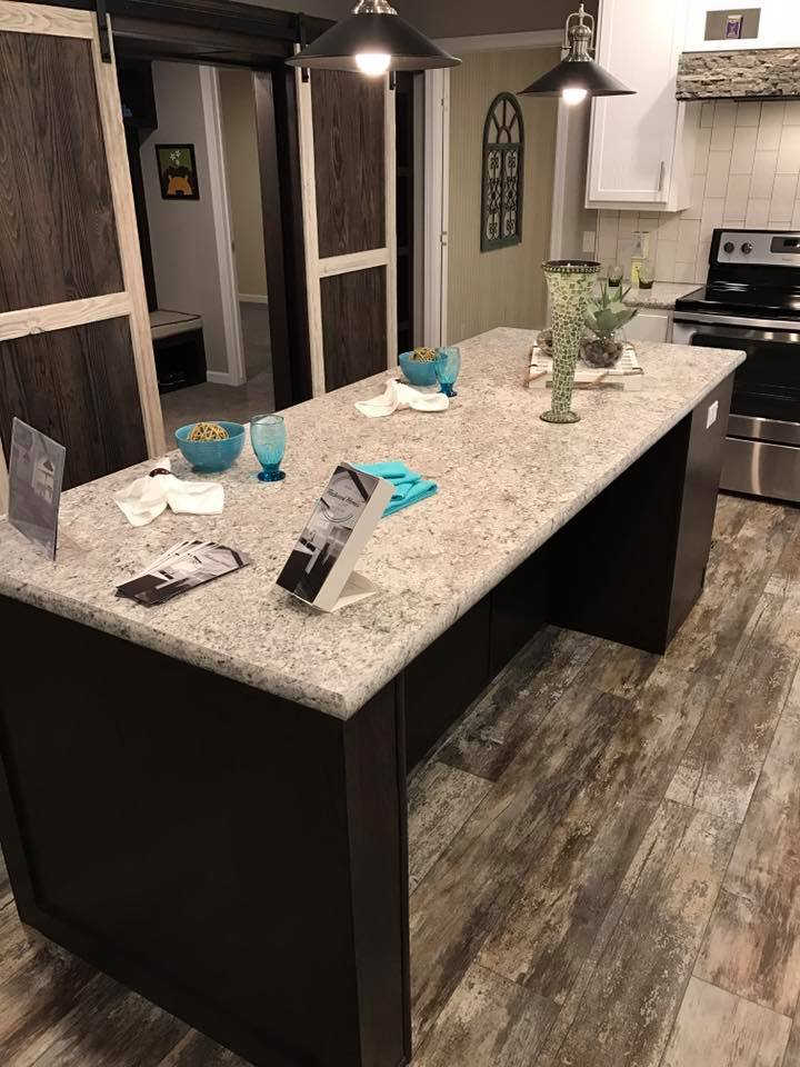 Kitchen Island-Seating on Both Sides