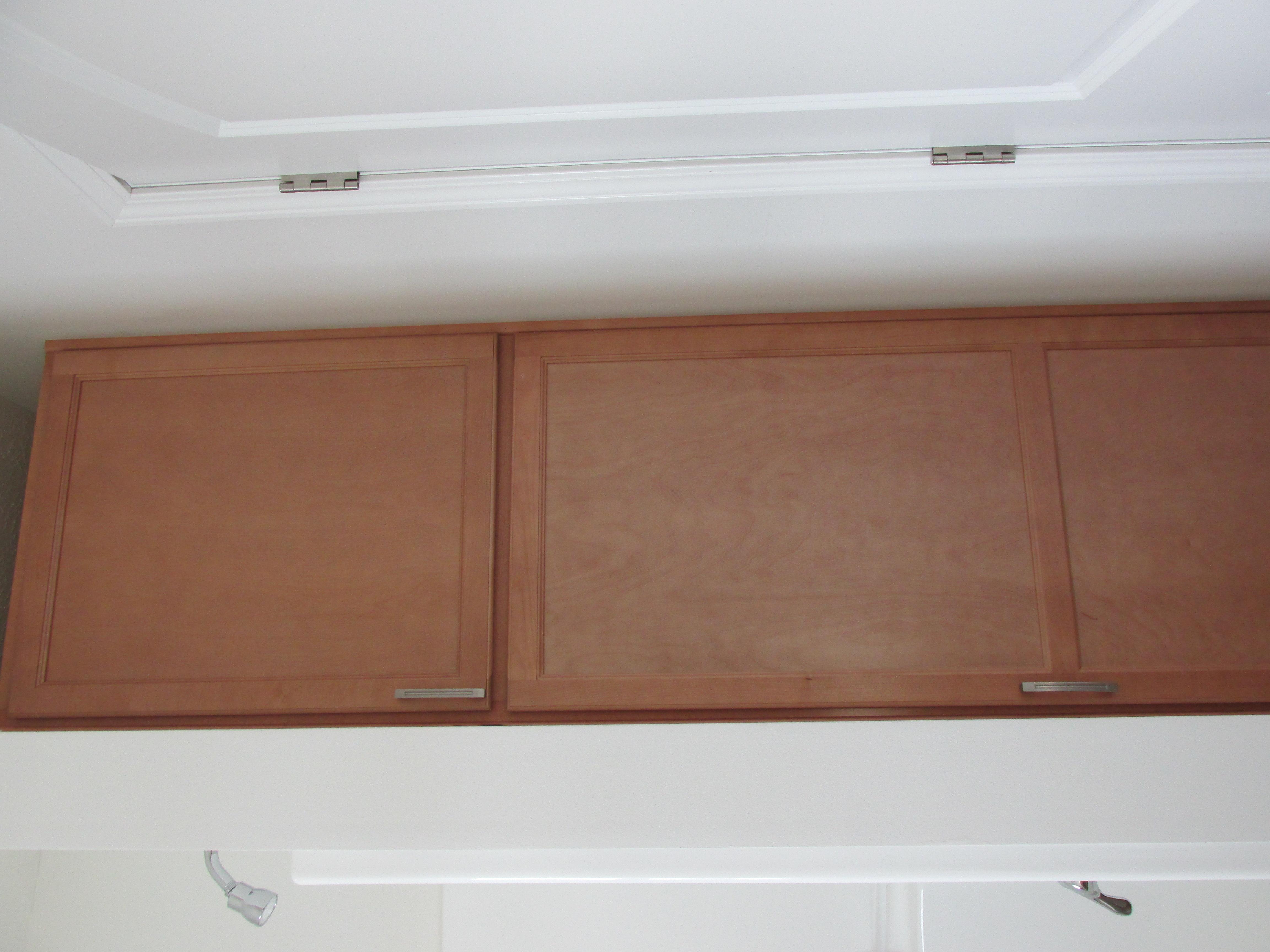 Guest Bathroom Linen Cabinet