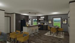 Sandalwood 28483M - Kitchen & DR