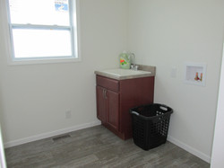Utility Room and Utility Sink