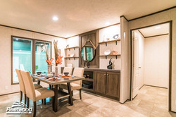 Dining Room with Walk-in Pantry