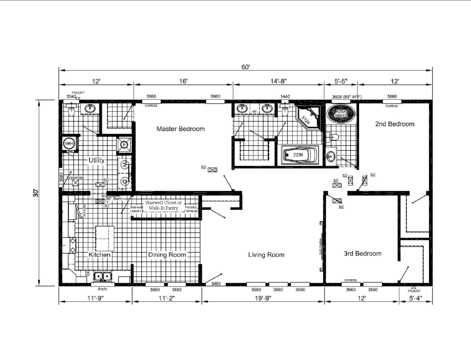 Display Home 448 Floorplan