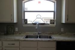 Kitchen Window & Sink