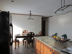 429 Kitchen Island and Dining Room