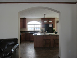 429 Kitchen Entrance with Drywall Arch