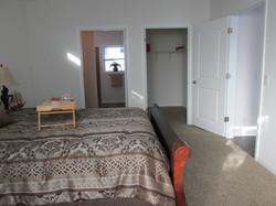 422 Master Bedroom, Closet, and Bathroom