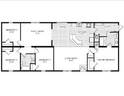 Cottonwood Creek Floorplan