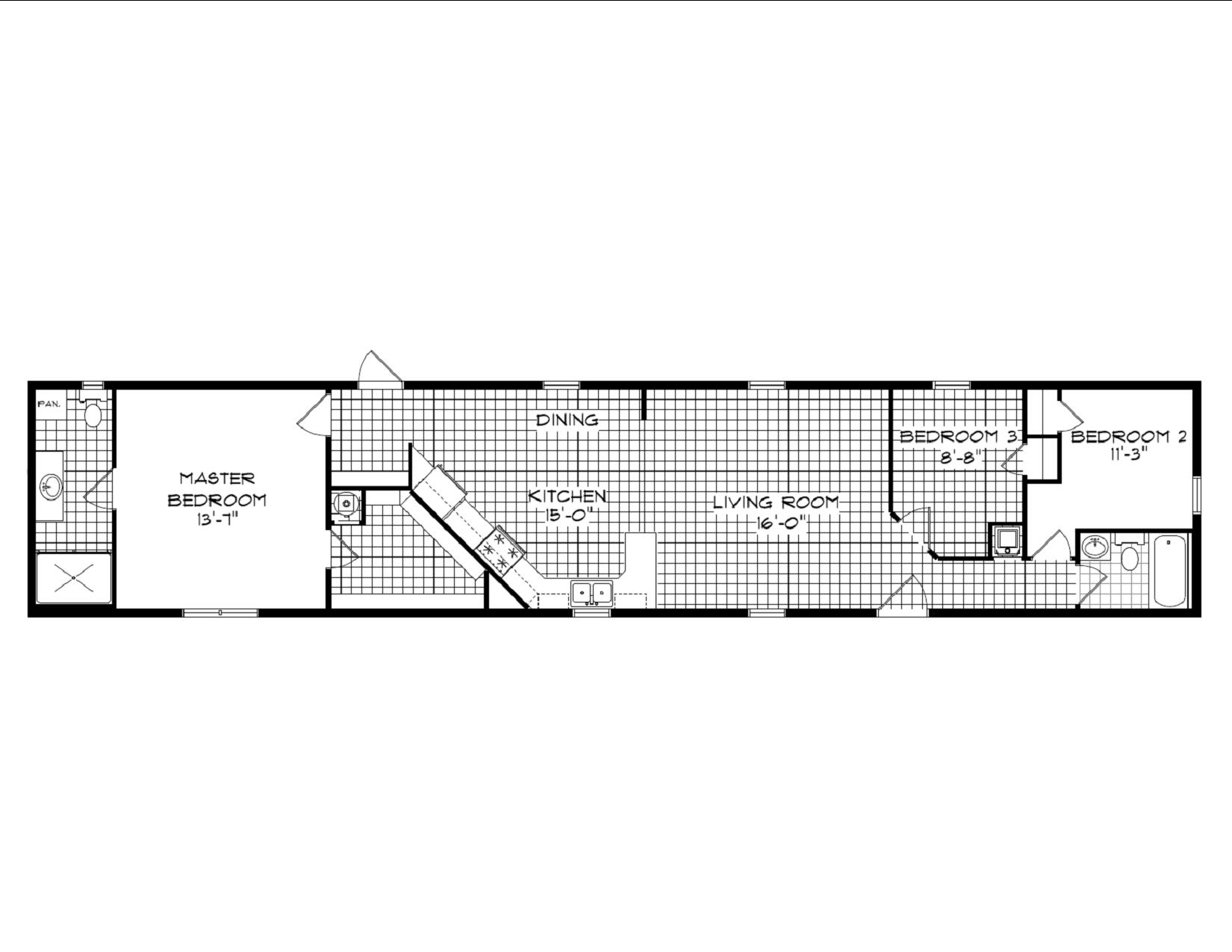 Display Home 461 Floor Plan