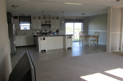 Kitchen & Living Room View