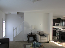 Living Room, Entrance, and Kitchen
