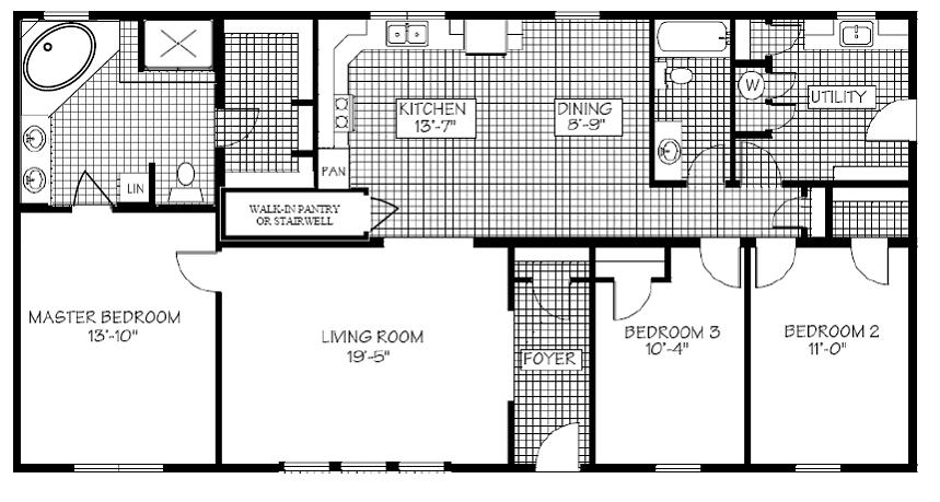 Display Home 462 Floor Plan
