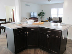 Kitchen Island with Base Cabinets