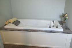 Soaker Tub in Master Bathroom